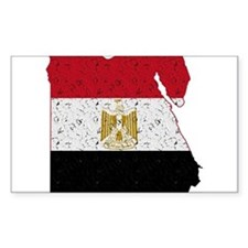 Egypt Flag Map Decal
