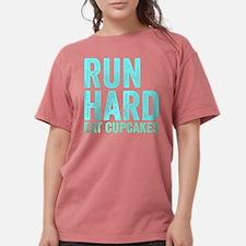 Run Hard Eat Cupcakes Womens Comfort Colors Shirt