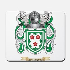 Livingston Coat of Arms - Family Crest Mousepad