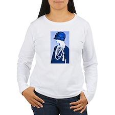 Blue Cloche Long Sleeve T-Shirt