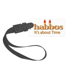 Shabbos-Its About Time Luggage Tag