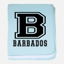 Barbados Designs baby blanket