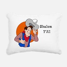 Shalom YAll Rectangular Canvas Pillow