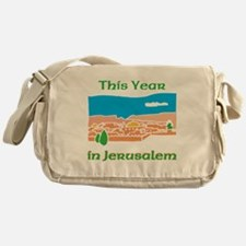 This Year in Jerusalem Messenger Bag