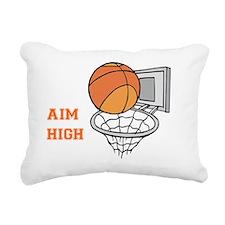 Aim High Rectangular Canvas Pillow