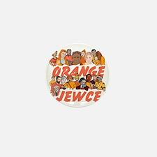 Orange Jewce- Crowd Mini Button