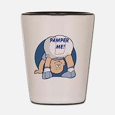 Pamper Me Shot Glass