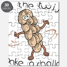 Do The Twist-Dancing Challah Puzzle