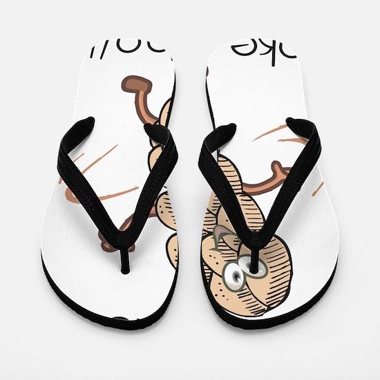 Do The Twist-Dancing Challah Flip Flops
