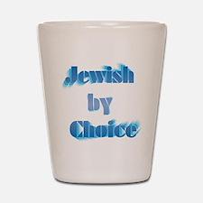 JewishByChoice-blue Shot Glass