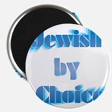 JewishByChoice-blue Magnet