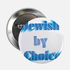 "JewishByChoice-blue 2.25"" Button"