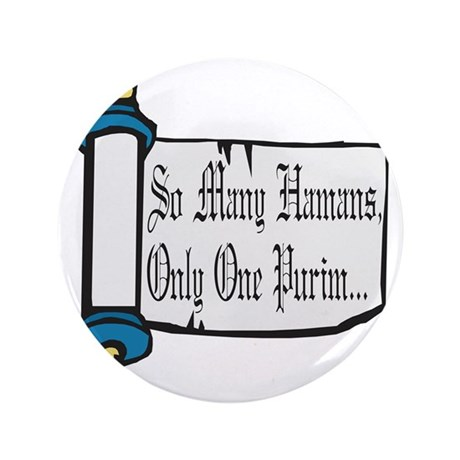 """So Many Hamans 3.5"""" Button"""