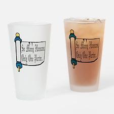 So Many Hamans Drinking Glass