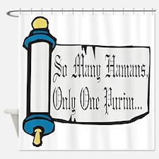 So Many Hamans Shower Curtain