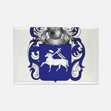 Llama Coat of Arms - Family Crest Rectangle Magnet