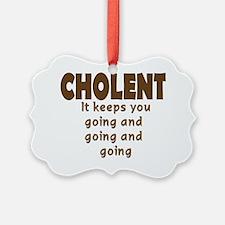 Cholent Ornament