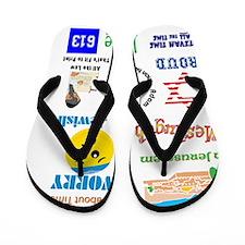 Jew Tee Medley Flip Flops