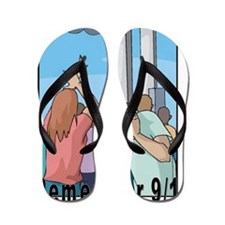 Remember 911 Flip Flops