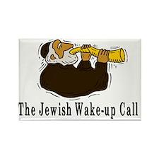 Jewish Wakeup Call Rectangle Magnet