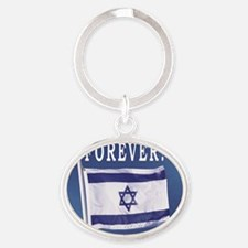 Forever Oval Keychain