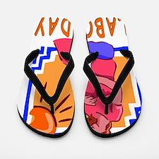 Labor Day Flip Flops