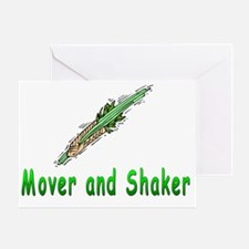Mover and Shaker Greeting Card