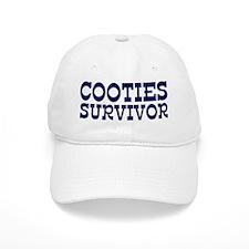 Cooties Survivor Baseball Cap