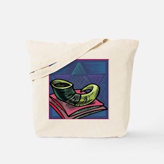 Jewish New year Card-Shofar 2 Tote Bag