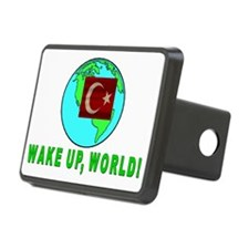 WAKE UP WORLD 4 Hitch Cover