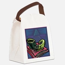 Jewish New year Card-Shofar 2 Canvas Lunch Bag