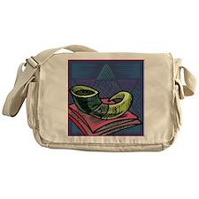 Jewish New year Card-Shofar 2 Messenger Bag