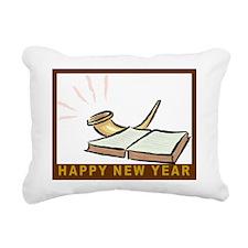 Jewish New Year-Book and Rectangular Canvas Pillow