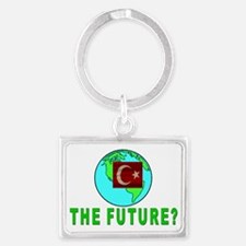 The Future Landscape Keychain