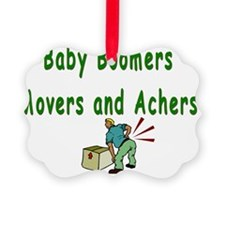 Movers and Achers Ornament
