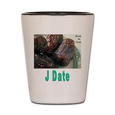 J Date Shot Glass