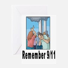 Remember 911 Greeting Card