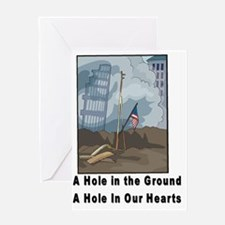 Hole In Ground Greeting Card