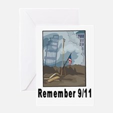 Remember 9/11 2 Greeting Card