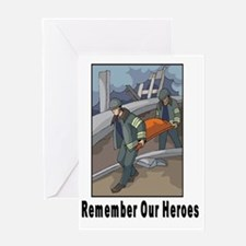 Remember Heroes Greeting Card