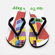 Color Life Happy Flip Flops