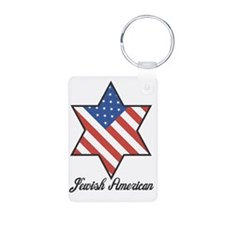 Jewish American Keychains