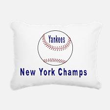 Yanks Champs Rectangular Canvas Pillow