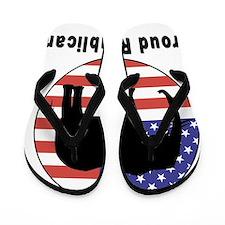 Proud Republican Flip Flops