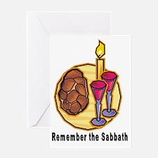 Sabbath Greeting Card