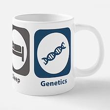 Eat Sleep Genetics Mugs
