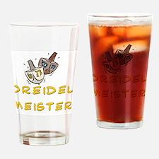 Dreidel Meister Drinking Glass
