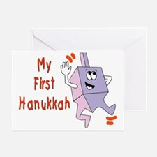 My First Hanukkah Greeting Card