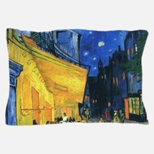 Van Gogh CafeTerrace at Night Pillow Case