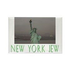 New York Jew Greenflat Rectangle Magnet